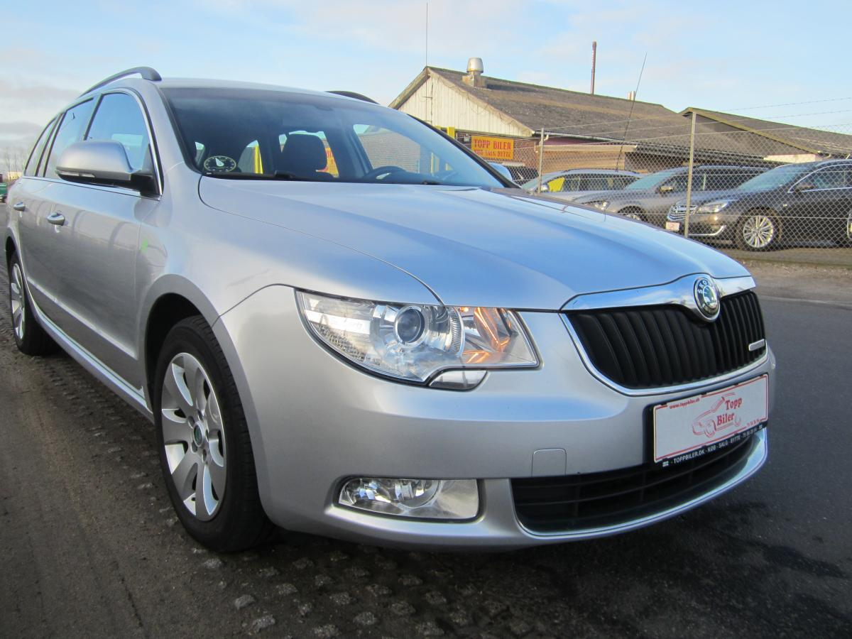 Skoda Superb 1,6 TDi 105 Active Combi GreenLine
